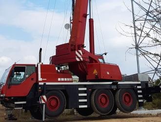 автокран LIEBHERR LTM 1055-3.1 (снимка)