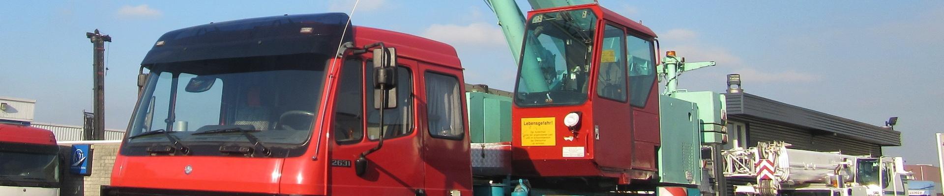 Автокран LIEBHERR, модел LTF 1030 (снимка)