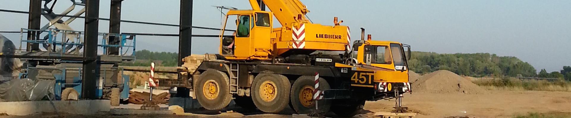 Автокран LIEBHERR модел LTM 1040-3 (детайл)