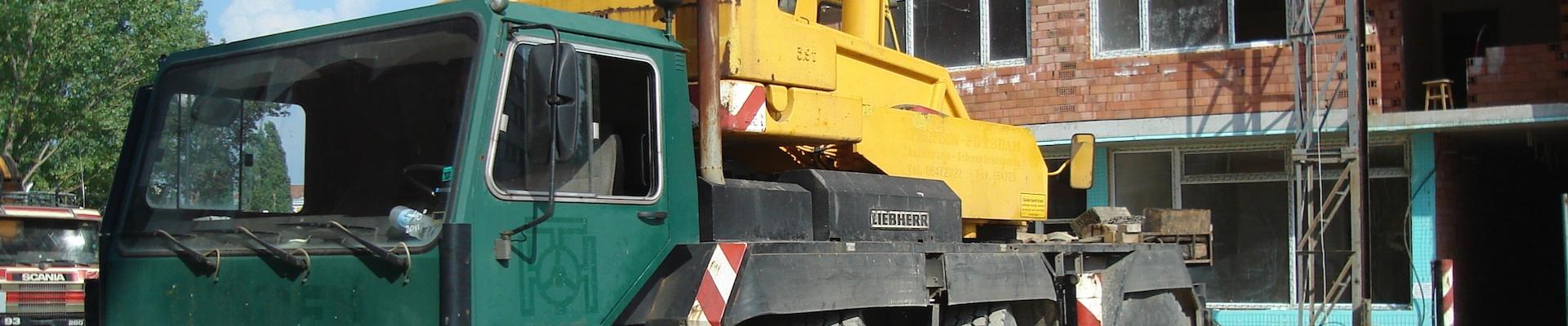 Автокран LIEBHERR модел LTM 1040-3 (снимка)